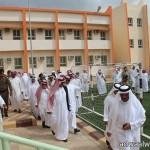 سمو وزير التربية والتعليم يزور قرية ذي عين التراثية