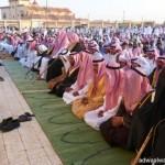سمو أمير منطقة المدينة المنورة يستقبل أئمة المسجد النبوي وجموعا من المواطنين