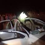 """حادث بـ """"تهامة الباحة""""  يُسفر عن إصابة شخصين"""