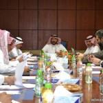 أمير الباحة ﯾستقبل رئيس وقضاة محكمة اﻻستئناف بالمنطقة