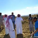 حادث بطريق – العقيق – الرياض – يصيب خمسة اشخاص