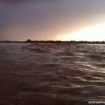 أمطار محافظة ميسان تشل الحركة المرورية