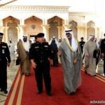 سمو الأمير محمد بن نايف يصل إلى مملكة البحرين