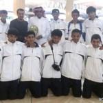 كشافة تعليم الباحة يشاركون في تشجير جبل البريدة بالباحة