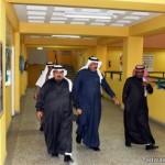 امير منطقة تبوك يلتقى رئيس واعضاء المجلس البلدي والفريق الركن السواط
