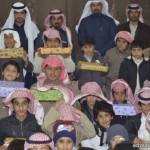 مدير تعليم عفيف يفتتح معرض المدارس الاهليه للبنات