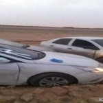 """وفاة 4 من عائلة واحدة غرقاً في وادي قرب """"روضة خريم"""""""