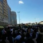 """إصابات بليغة في حادث إنقلاب حافلة بـ """"سديرة الطائف"""""""