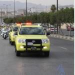 شرطة محافظة قلوة تطيح بثلاثة مواطنين قاموا بسرقة إيرادات إحدى محطات الوقود