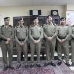 """مدير شرطة الطائف يكرم """"النفيعي عمدة بني سعد"""""""