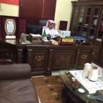 مدير الدفاع المدني بمحافظة المجمعة يقلد أبانمي والسيف رتبهم الجديده