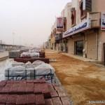 مدني رفحاء يسيطر على حريقاً هائل أتى على أسواق العثيم