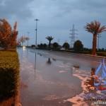 تعلِّق الدراسة اليوم في جامعة طيبة بسبب هطول  الأمطار الغزيرة