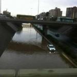 هطول أمطار متفرقة على عددا من المناطق سالت على أثرها الشعاب والأودية