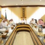 وفد اللجنة العامة للانتخابات يتفقد اللجنة المحلية بحفر الباطن