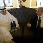 استقبال سمو السفير السعودي بعمّان لوفد مجلس الأعمال السعودي الأردني