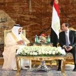 """""""السيسي"""" يعلن تسمية الجسر البري بين مصر والسعودية بـ""""جسر الملك سلمان"""""""