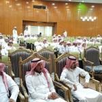 مدرسة حسان بن النعمان المتوسطة في رأس تنورة تكرم بلدية المحافظة