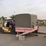 وزير المياه والكهرباء يقوم بزيارة تفقدية لسد وادي بيش بجازان