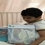 فريق الحماية الاجتماعية بمكة المكرمة يقف على حالة الطفل المعنف