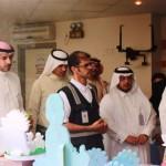 """مدير مكتب تعليم أضم يفتتح المعرض الكشفي وبرنامج """"وطننا أمانة"""""""