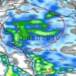 لليوم الثالث على التوالي .. أمطار الخير تتواصل على مركز بني يزيد والقرى التابعة له