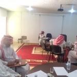 رئيسة مرشدات المملكة تزور جمعية الأيدي الحرفية