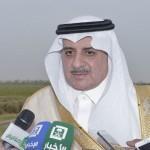 """الأمير """"خالد الفيصل""""يستقبل وفداً من شيوخ بني مالك"""