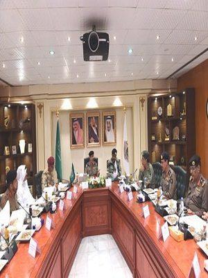 اللجنة الأمنية بالحج تعقد إجتماعها الأول لهذا العام 1438هـ بالأمن العام