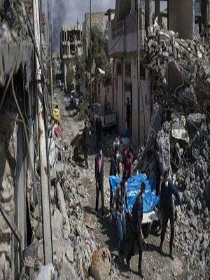 """""""معركة الموصل"""": الأمم المتحدة تخشى من احتمال مقتل 200 شخص في غارة على المدينة"""