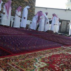 """بالصور..الشيخ عيسى بن سيحان يحتفل بزواج ابنه""""صالح"""""""