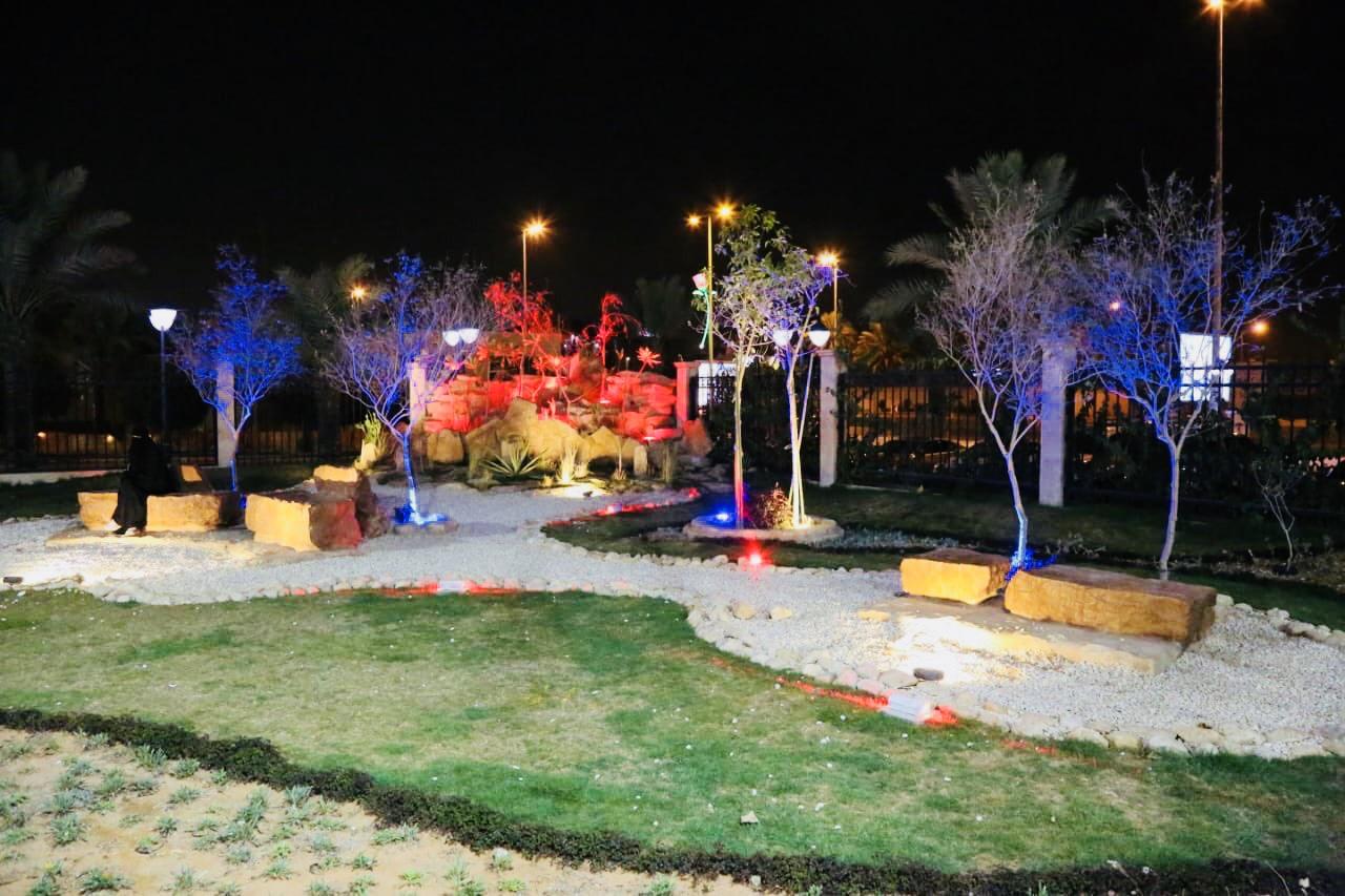 حديقة الزهور بالرياض تتجمل بـ 200 ألف زهره لاستقبال الزوار في العيد أضواء الوطن