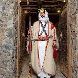 تراث القصيم في الجنادرية يقيم الليلة السعودية ويتوشح باللون الأخضر