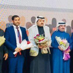 أضواء الوطن تتفاعل مع شعار الوطن يجمعنا في مناسبة اجتماعية في محافظة جدة