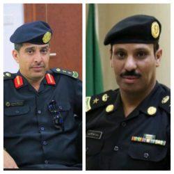 العصيل يقلد مدير شرطة الحناكية رتبته الجديدة