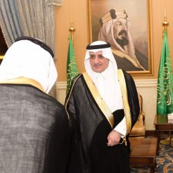 سمو أمير الباحة يعايد المرضى المنومين بمستشفى الملك فهد بالمنطقة