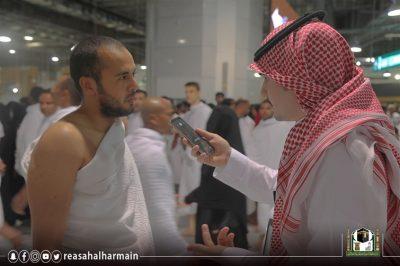 في ليلة الـ ٢٧ من رمضان .. قاصدي المسجد الحرام يعبرون عن مشاعرهم ويثمنون جاهزية الخدمات المقدمة لهم