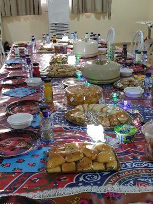 مركز تأهيل حائل ينظم إفطاراً جماعياً للنزيلات