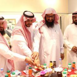 فرع الشؤون الإسلامية بالقصيم يقيم حفل معايدة لمنسوبيه