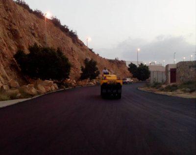 أمانة الطائف تسفلت 20 كم من شوارع بالهدا والواصلية والسر