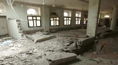 """""""مليشيا الحوثي الانقلابية"""" تستهدف منزل محافظ مأرب في اليمن بصاروخ بالستي"""