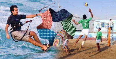 نيوم تستضيف بطولة شاطئية دولية