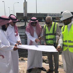 مدني مكة يفتتح المعرض التوعوي الخاص بالسلامة