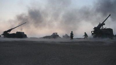 وقوع سلسلة انفجارات بمستودع للذخيرة في إقليم خطاي التركي قرب الحدود السورية