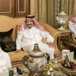 سمو الأمير خالد الفيصل يستقبل المُشرف على معسكرات الخدمة العامة