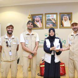 مدير صحة مكة يدشن الموقع الإلكتروني لخدمات الإمداد الطبي بالحج