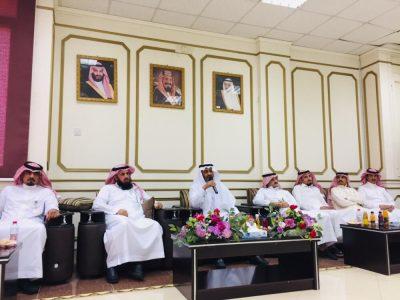 """""""البريد السعودي بحائل"""" يقيم حفل معايدة لمنسوبيه"""