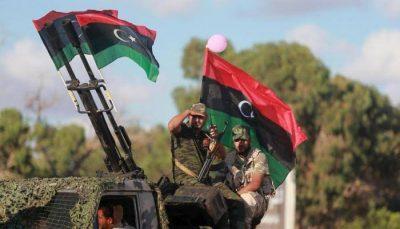 الجيش الليبي يدمر طائرة شحن تركية على متنها أسلحة في مصراتة