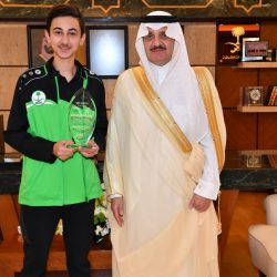 أمير منطقة الباحة يستقبل وكلاء الإمارة وموظفيها المهنئين بعيد الأضحى المبارك
