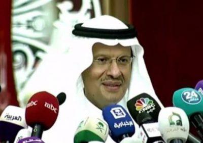 سمو وزير الطاقة : أبشركم بعودة الوضع لما كان عليه قبل فجر السبت